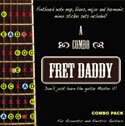 Guitar Notes's Combination Pack Package for Acoustic Electric Guitar - Learn to Play Fret Daddy's most popular scales